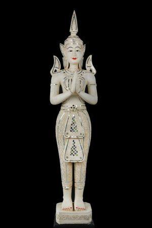 150cm Antique White Thai Angel