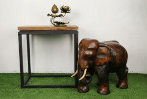 """16"""" Wooden Elephant"""