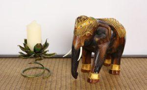 20cm Decorated Elephant