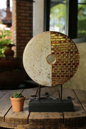 25cm Mosaic Circle 1