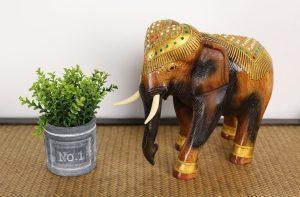 27cm Decorated Elephant