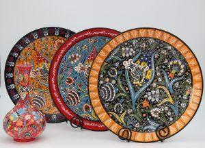Hand Made Turkish Ceramic Plates