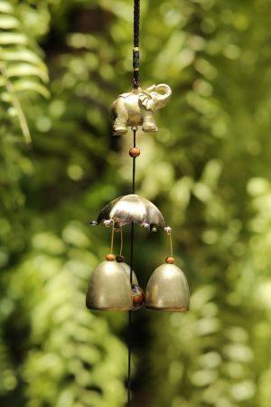 3 Bell Brass Chime