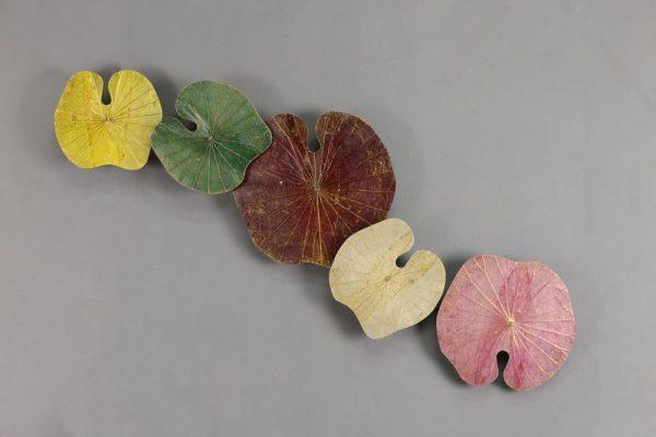 3D 5 Lotus Leaf Art Summer Days