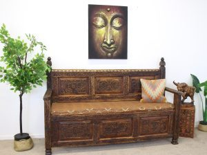Hand Crafted Wooden Bench Seats