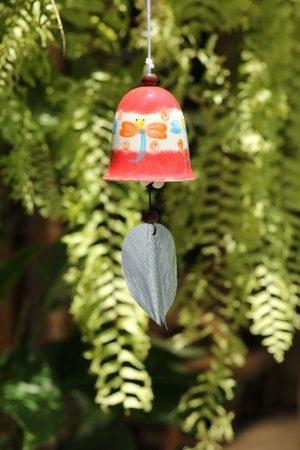 Ceramic Dragonfly Bell