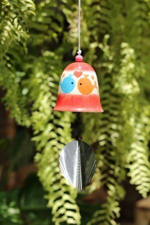 Ceramic Fish Bell