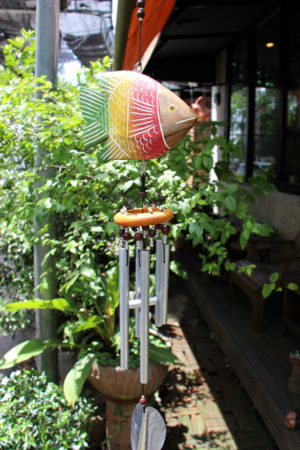 Colourful Fish Chime 6 Bell
