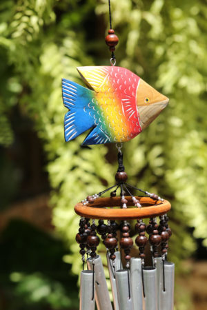 Colourful Fish Chime 8 Bell