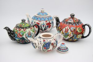 Gorgeous Hand Crafted Ceramic Teapots