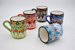 Hand Crafted Turkish Coffee Mugs