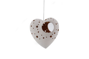 Heart Tea Light Candle Hanger