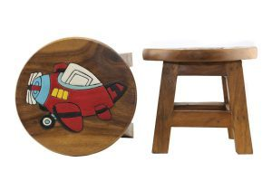 Kids Wooden Stool Plane