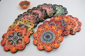 Hand Crafted Turkish Coasters & Trivets