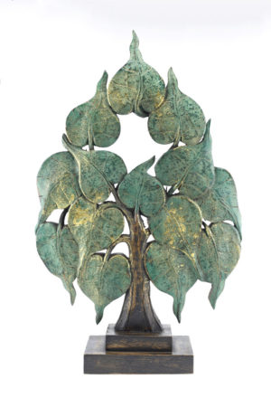 Large 62cm Bodhi Tree Antique Green