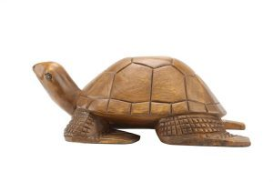 Large Wooden Turtle