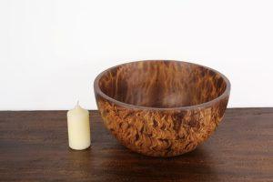 Mangowood 25cm Bowl Light Brown