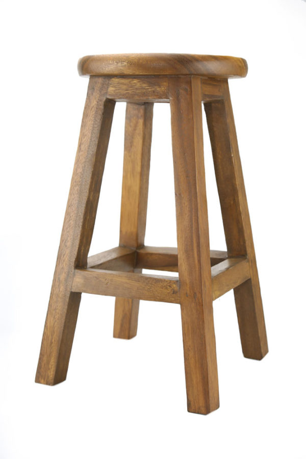 Med Wooden Stool
