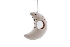 Moon Tea Light Candle Hanger