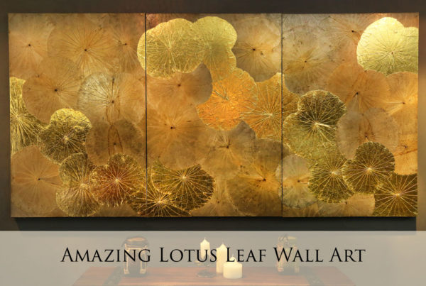 Lotus Leaf Wall Art