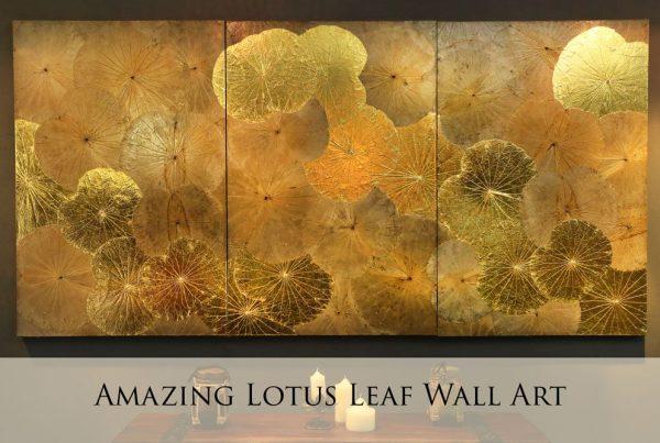 Lotus Leaf Wall Art