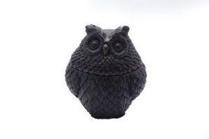 Resin Owl Pot