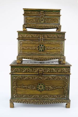 Stackable Treasure Boxes Set Of Three