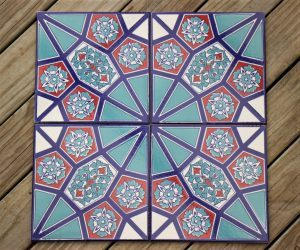 Handcrafted Turkish Ceramic Wall Tiles