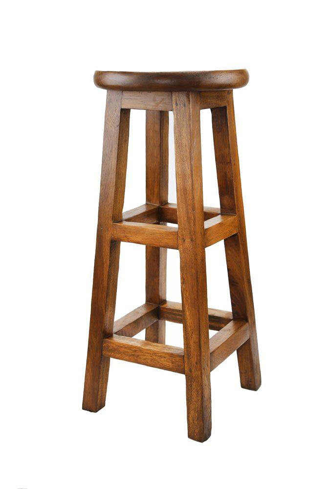 Tall Wooden Stool