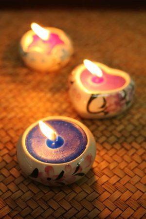 Tea lights Candles and Candelabras