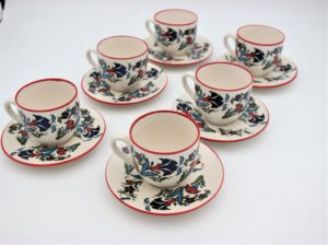 Hand Crafted Turkish Ceramic Coffee Sets