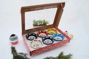 Hand Crafted 8cm Turkish Ceramic 6Pk Gift Sets
