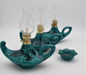 Hand Crafted Turkish Ceramic Lamps