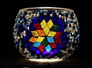 Turkish Mosaic Candleholder