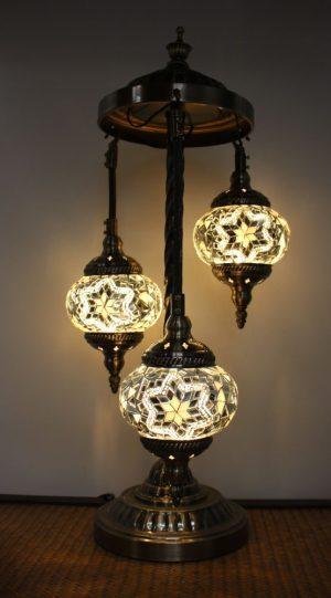 Floor Lamp 3 Hanging Globes