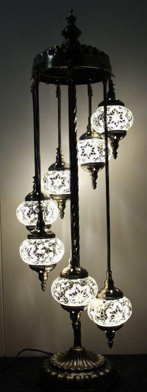 Turkish Mosaic Floor Lamps