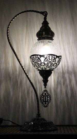 Turkish Ottoman Swan Table Lamp