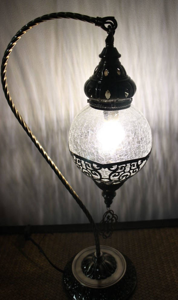 Turkish Ottoman Swan Table Lamp