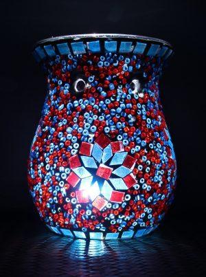 Turkish Mosaic Oil Burner