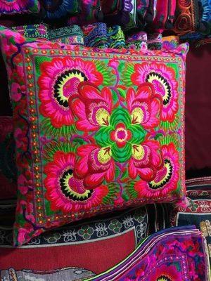 Vibrant Bohemian Cushions