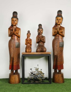 Wooden Carved Figures