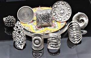 Hand Crafted Silver Plated Turkish Ottoman Jewelery